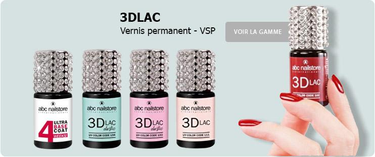 3DLAC vernis permanent VSP
